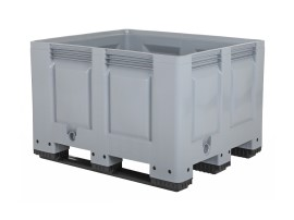 BIG BOX plastic palletbox - 1200 x 1000 mm - 3 runners
