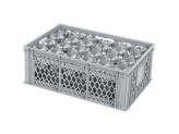 Glass crate BASIC - 600 x 400 x H 224 mm for 24 glasses