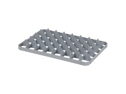 Lower 40 space subdivision - BASIC glass crates - size 69 x 67 mm