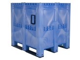 MAXI BOX plastic palletbox - 1300 x 1150 mm - closed