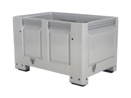 BIG BOX plastic palletbox - 1200 x 800 mm - on 4 feet