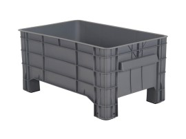 MINI BOX plastic palletbox - 1040 x 640 mm - on 4 feet