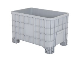 MINI BOX plastic palletbox - 1000 x 635 mm - on 4 feet