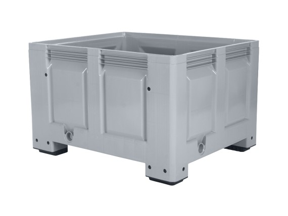 BIG BOX plastic palletbox - 1200 x 1000 mm - on 4 feet 4401.100