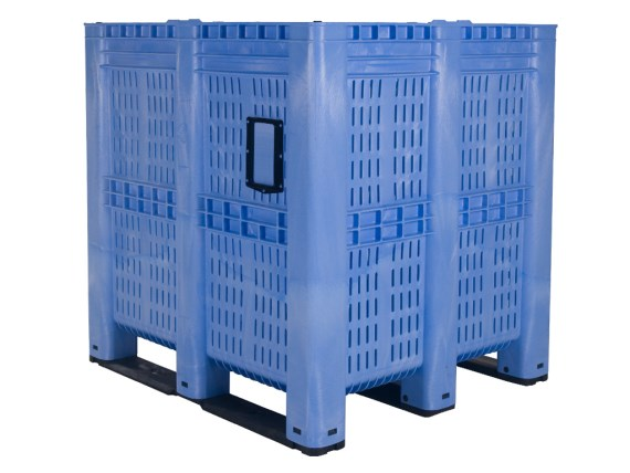 MAXI BOX plastic palletbox - 1300 x 1150 mm - perforated 25.1400B.BL + colour number
