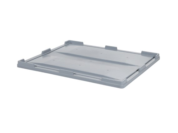 Lay-on lid 1200 x 1000 mm - for pallet boxes 1200 x 1000 x H 1000 mm 35.DE.1210