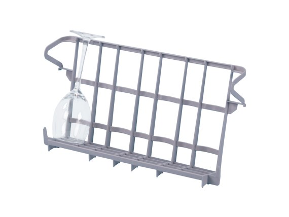 Glass insert rack - 375 x 220 mm - suitable as insert rack for Bistro baskets - 50.GR.400