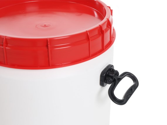 Plastic drums - handle super wide-mouth drum