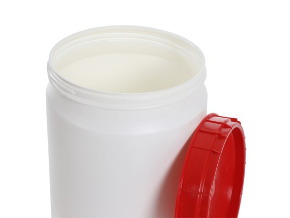 Plastic drums - super wide-mouth drum with lid
