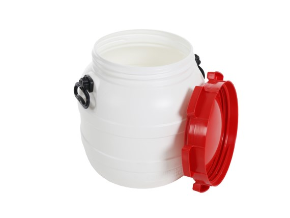 Plastic drums - drum with lid