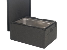 Gastronorm insulated box with lid (stackable) - 600 x 400 x H 230 mm