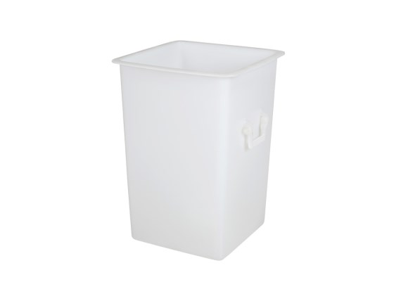 Transport container - 500 x 500 mm - 125 liter - without lid - 81031110