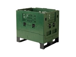 MAGNUM foldable large container - 800 x 600 mm - perforated