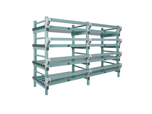 Plastic rack (Nautical rack) - 2000 x 600/690 x H 1450 mm KRN20060145