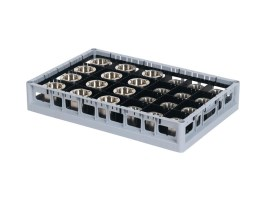 PP washing tray - side bars - high divider - Techrack