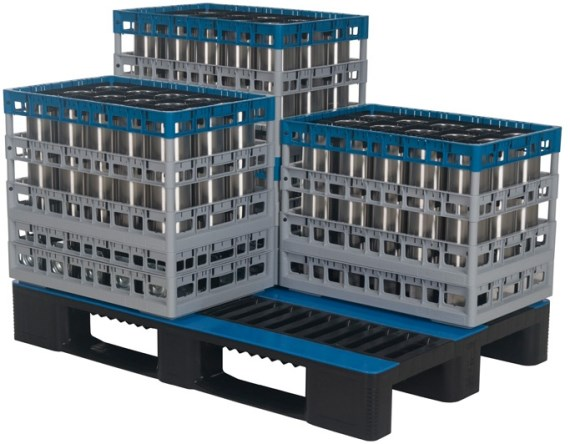 Washing tray - Techrack - 600 x 400 mm - on pallet