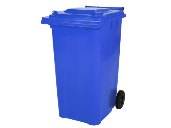 Two-wheeled 240 litre waste container - blue 81881311