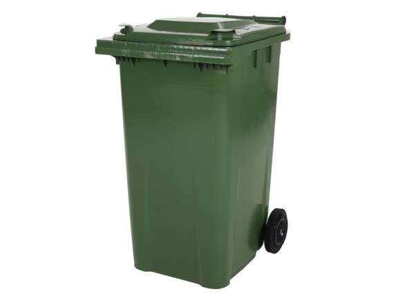 Two-wheeled 240 litre waste container - green 81881511