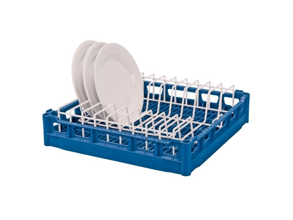 Plate insert rack for 500 x 500 mm universal rack (nine plates) 50.PTE