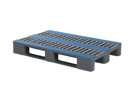Euro pallet - CR1 - 1200 x 800 mm (without rims - with reinforced profiles)