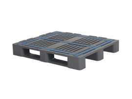 Industrial pallet type CR3 (with rims - steel-reinforced)