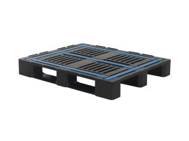 Industrial pallet - CR3 ECO - 1200 x 1000 mm (with rims and anti-slip strips)