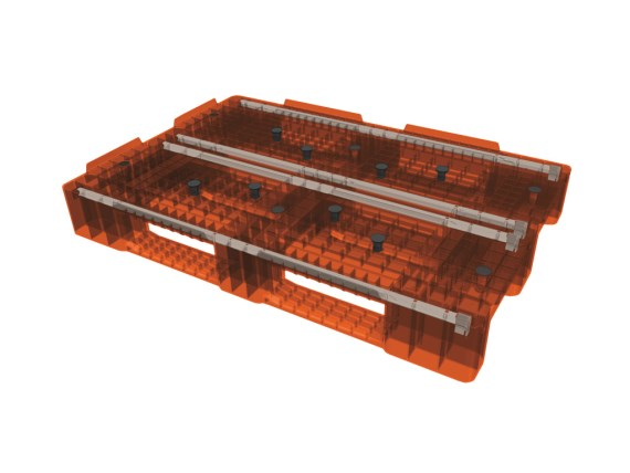 Euro pallet - D1 - 1200 x 800 mm - reinforced profile