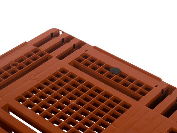 Plastic pallets - D3 - rubbers in deck