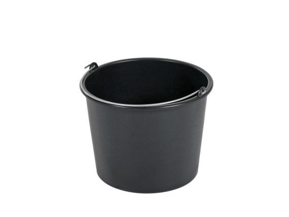 Bucket 12 litre - normal duty - black 99.4751.4012