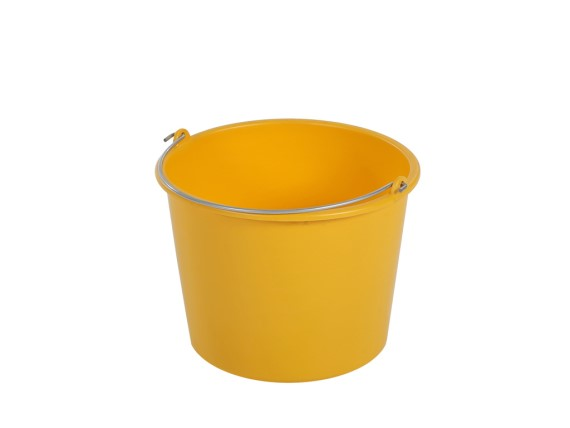 Bucket 12 litre - normal duty - yellow 99.4753.0