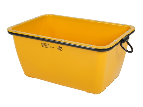 FMK mortar tub - 200 liter 81611411 (yellow)