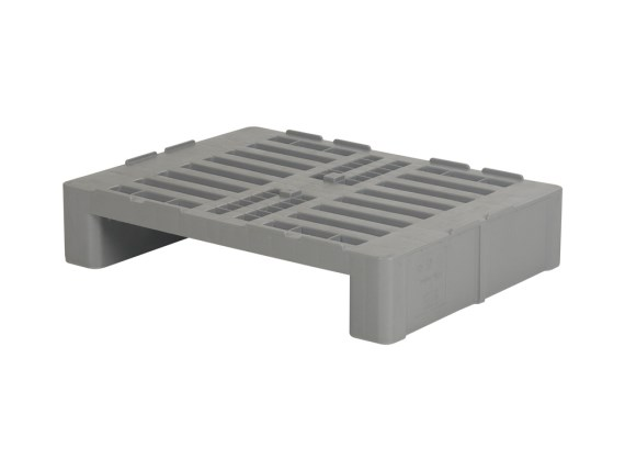 Half Euro pallet - H2 - 800 x 600 mm - with centring ridges