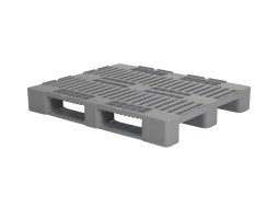Industrial pallet - H3 - 1200 x 1000 mm (with rims - without ridges)