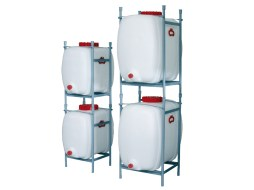 Stacking frame - for plastic tanks with drain 300 litre