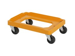 Plastic trolley - universal - 600 x 400 mm