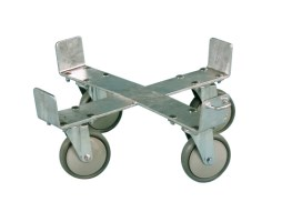 Trolley for SMK adhesive and silo mortar tub