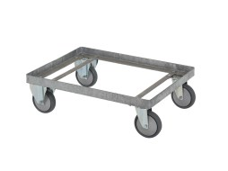 Steel trolley - for 210 litre transport bin