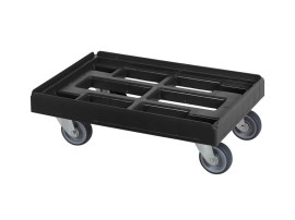 BLACK LINE - Plastic trolley 600 x 400