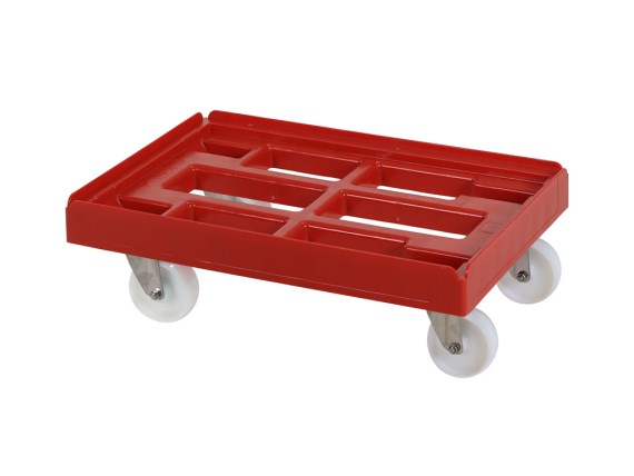 Plastic trolley (610 x 410 x 200) 52.TR6040.RVS + colour number