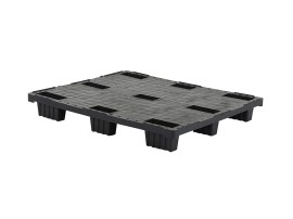 Plastic export pallet - 1200 x 1000 mm (9 feet - nestable)
