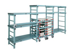 Staggered height