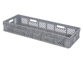 Stacking crate R115X DUO - 1065 x 400 x H 160 mm - Heat resistant
