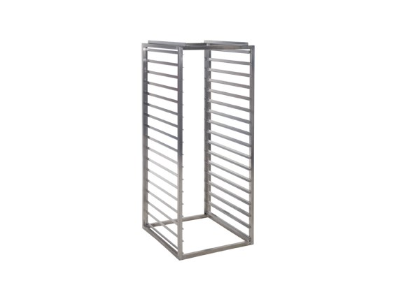 Stainless steel internal rack with 10 spaces for Insulated container 450 litre - Gastronorm 62.BR.A.450.10