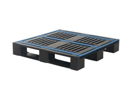 Plastic pallet - CR4 ECO - 1000 x 1000 mm (3 runners)
