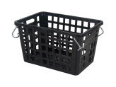 Stacking nestable crate - Washing / textile basket with handles - 795 x 545 x H 457 mm