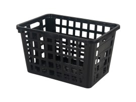 Nestable crate - Washing / textile basket without handles - 795 x 545 x H 457 mm