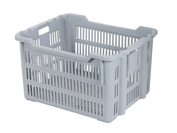 Stacking nestable crate - 625 x 500 x H 360 mm 56.0614