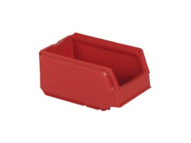 Store Box - plastic storage bin - type 9074 - 250 x 148 x H 130 mm - red