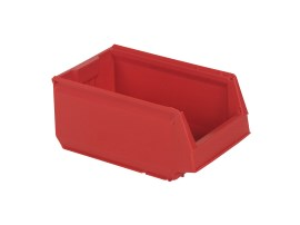 Store Box - plastic storage bin - type 9073 - 350 x 206 x H 150 mm - red