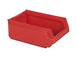 Store Box - plastic storage bin - type 9071 - 500 x 310 x H 200 mm - red